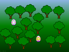 Easter egg treasure hunt PowerPoint game